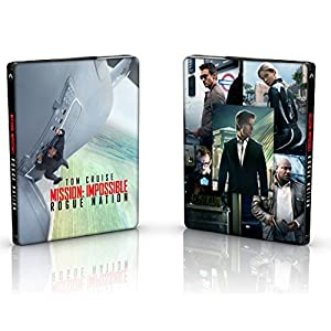 Mission Impossible Rogue Nation [Edition speciale steelbook] [Blu-ray]