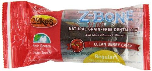 z-ossa-naturali-commestibili-clean-cherry-berry-regolari-cane-mastica-dentale-del-zuke-confezione-da