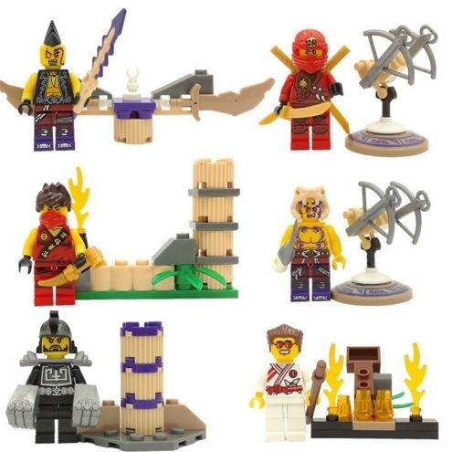 ActionFigures Minifigures [SuperHeroes Figure Warrior With Sword] Mini Blocks DIY Building Blocks Brinks No