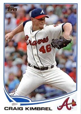 2013 Topps Baseball Card #46 Craig Kimbrel - Atlanta Braves - MLB Trading Cards