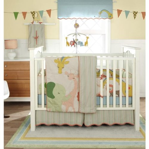 Migi Circus 3 Piece Crib Bedding Set by Bananafish