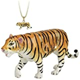 Hidden Treasures Trinket Box - Tiger Walking