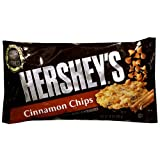 Hersheys Baking Pieces, Cinnamon Chips, 10-Ounce Bags (Pack of 6)