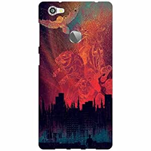 Letv Le 1s Printed Mobile Back Cover