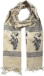 Sahiba Creation desi tusser silk stoles for women's