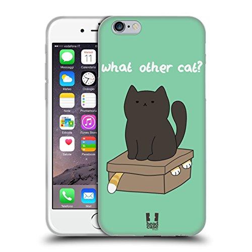 Head Case Designs What Other Cat Ceiling Cat Vs Basement Cat Cover Morbida In Gel Per Apple iPhone 6 / 6s