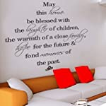 May this family be blessed - Wall Dec...