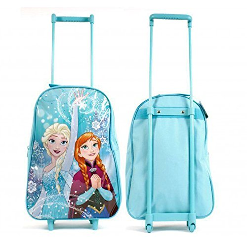 Disney Frozen Northern Lights Wheeled Trolley Bag (FROZEN001103) (Trolley Bag Uk compare prices)