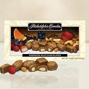 Philadelphia Candies Assorted Milk Chocolates, 453.5 gram Gift Box