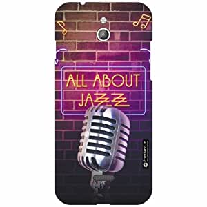Infocus M2 Back Cover - Silicon All Ab Out Jazz Designer Cases