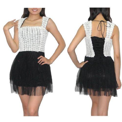 Womens Thai Exotic Sexy Sleeveless Mini Party Dress