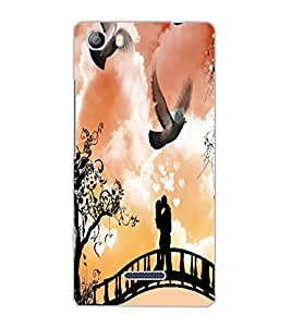 MICROMAX CANVAS 5 LOVE COUPLE Back Cover by PRINTSWAG