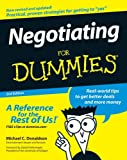 img - for Negotiating For Dummies book / textbook / text book