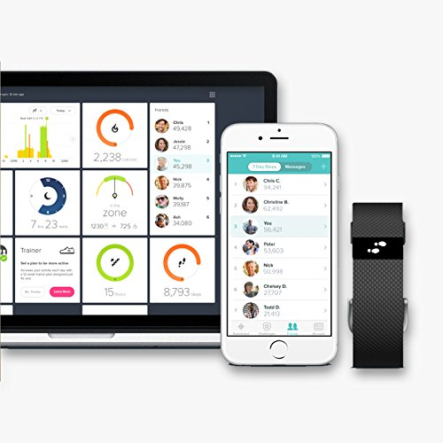 Fitbit Charge HR - Pulsera de actividad y ritmo cardíaco (con pulsómetro óptico)