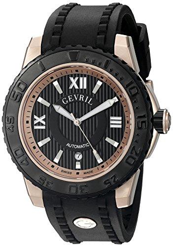 Gevril-Mens-3115-Seacloud-Analog-Display-Automatic-Self-Wind-Black-Watch