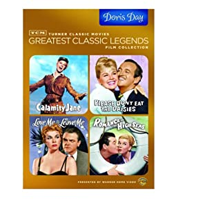 TCM Greatest Classic Legends Film Collection: Doris Day (Calamity Jane / Please Don&#8217;t Eat the Daisies / Love Me or Leave Me / Romance on the High Seas)