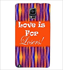PrintDhaba Quote D-5937 Back Case Cover for SAMSUNG GALAXY NOTE 3 (Multi-Coloured)