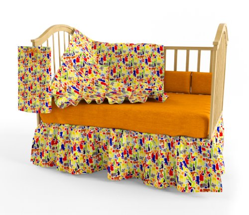 Room Magic Zoo 4 U Crib Bedding Set