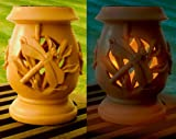 Great Ideas Solar Powered Carved Plastic Garden Dragonfly Lantern
