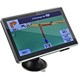 """Provenice 7"""" HD Car GPS Navigation 4G 128M Touch Screen Multimedia Player Free Map Update"""