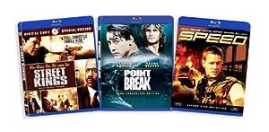 The Keanu Reeves Blu-ray Collection (Street Kings / Point Break / Speed)