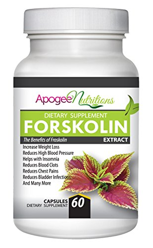 Forskolin - Coleus Forskolin 250Mg Extract Supplements Are Recommended By Health Experts For Weight Loss & Has Benefits For Bodybuilding - Don'T Settle To Buy Only 125Mg 60 Standardized Capsules - Start Melting Your Fat Away Today!
