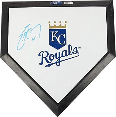 Eric Hosmer Kansas City Royals Autographed Miniature Home Plate - Fanatics Authentic Certified - MLB Autographed Miscellaneous Items