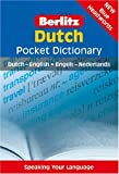 Dutch Pocket Dictionary (Berlitz Pocket Dictionary)