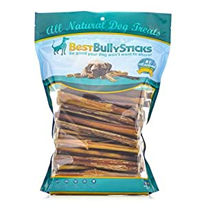 buy 6 inch standard odor free bully sticks 100 pack online at low prices in. Black Bedroom Furniture Sets. Home Design Ideas