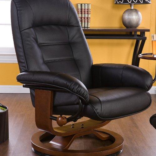 swivel rocker recliner with ottoman