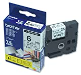 Brother TZ211 - Printer tape - black on white - Roll (0.6 cm x 8 m) TZ 211