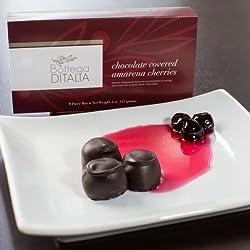 Bottega DITALIA Chocolate Covered Amarena Cherries – 4oz (8pc Box)