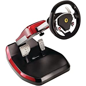AWM Thrustmaster 4160545 Ferrari(R) Wireless Gt F430 Scuderia Edition Cockpit - Computer Gaming