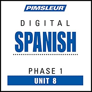 Spanish Phase 1, Unit 08 Audiobook