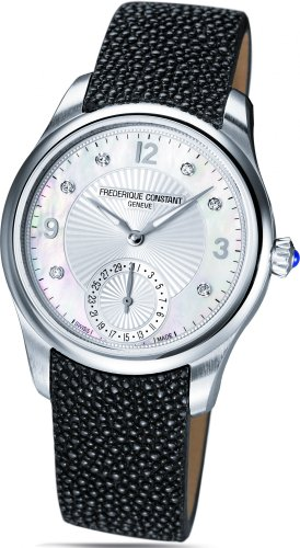 Frederique Constant Women's FC-700MPWD3M6 Maxime Manufacture Automatic Silver Diamond Dial Watch
