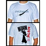 "Bleach T-shirt basic man Blanc ""SOULREAPER"" XL"