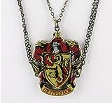 Harry Potter Gryffindor Crest Necklace.