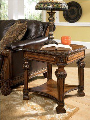 Signature Design by Ashley T854-2 Casa Mollino Square End Table (T854-2)