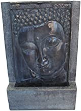 Welland 16-inch Buddha Face Tabletop Fountain