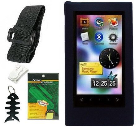 Premium Accessory Bundle Combo For Samsung YP-P3 MP3 Player