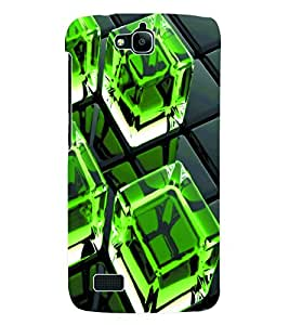 Fuson 3D Printed Pattern Designer Back Case Cover for Huawei Honor Holly - D1117