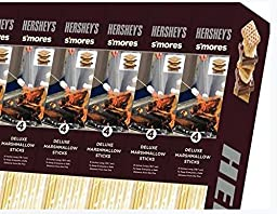 Hershey\'s S\'mores Deluxe Marshmallow Sticks 4 Pack
