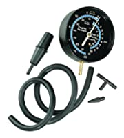 vacuum gauge, Sunpro, Actron CP7803 Vacuum and Fuel Pressure Tester Kit