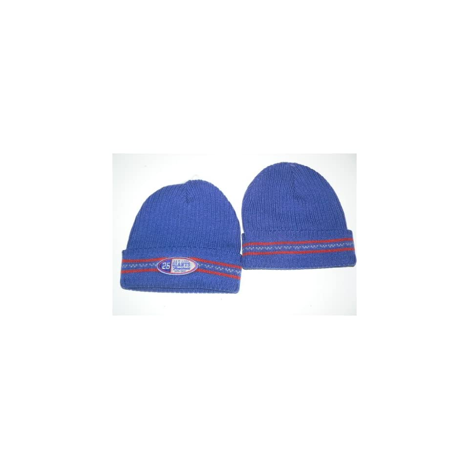 NFL New York Giants Gridiron Classic Cuffed Beanie Hat Ski Skull Cap Lid  Toque 0e1cbfd14