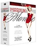 echange, troc The Best of Marilyn Monroe : Sept ans de réflexion + Les hommes préfèrent les blondes + Comment épouser un millionaire [Blu