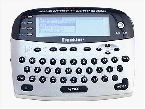 Franklin BES-1840 Speaking Spanish/English Dictionary (Spanish Dictionary Electronic compare prices)