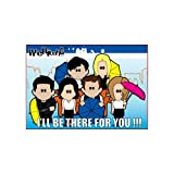 Weenicons I'll Be There For You Magnet