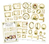 Vintage Christmas - Designs for Spellbinders papercraft kit for Cardmaking and scrapbooking