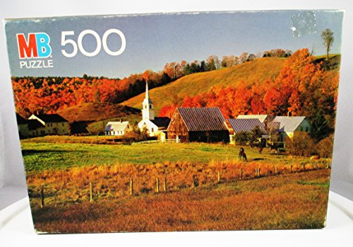 1983 Croxley 500 Piece Puzzle - Orford, New Hampshire - 1