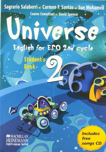 Universe. Student's Book 2. 2º Eso (+ CD)